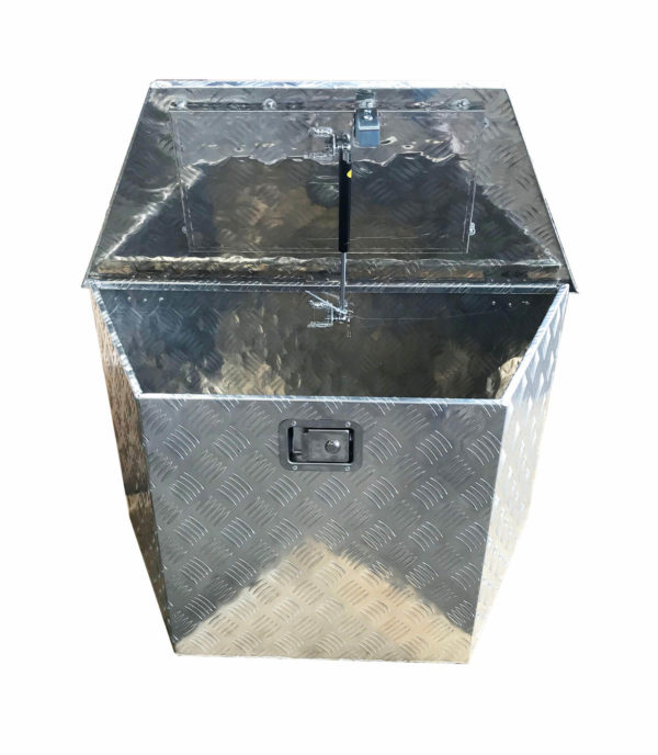 Aluminium Deichselbox Staubox