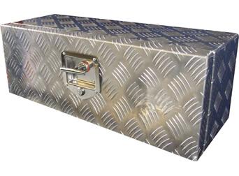 abschließbare Deichselbox Aluminium 65,0 x 25,5 x 22,5 cm