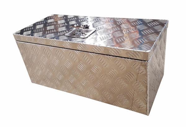 abschließbare Deichselbox Aluminium 65,0 x 30,0 x 30,0 cm