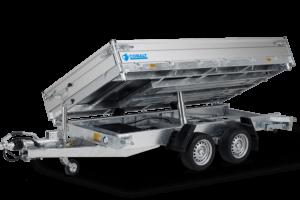 Hapert Cobalt HM-2 3,05x1,80m 2700kg Dreiseitenkipper elektrisch + Auffahrpaket