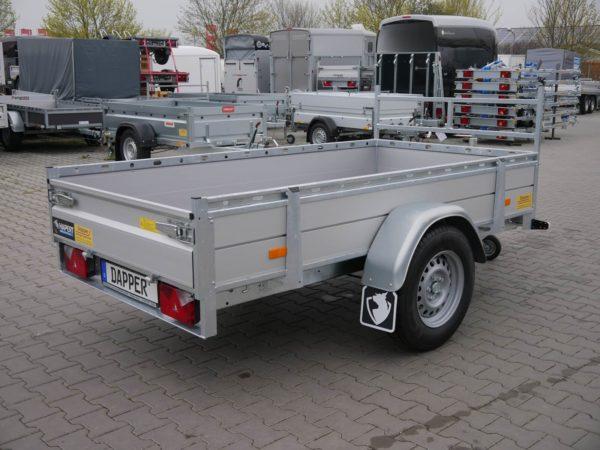 Hapert Azure L-1 Aluminium 2,53x1,29m 1350kg