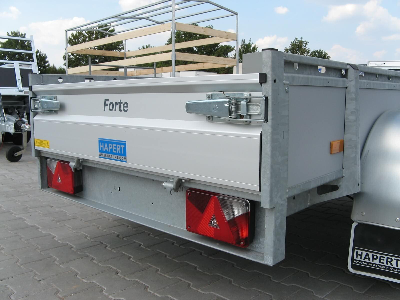 Hapert Azure L-2 Multiplex 2,53x1,29m 2000kg