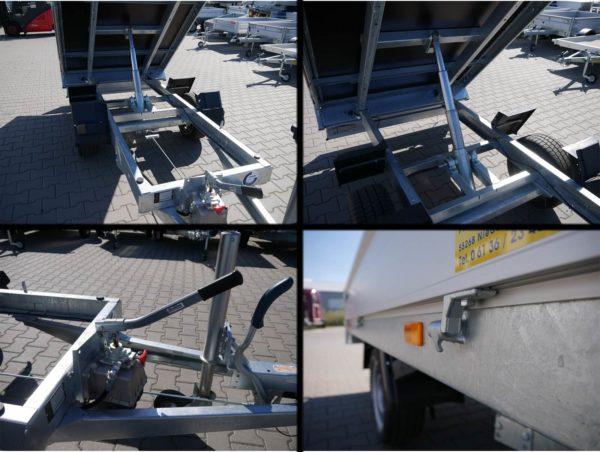 Hapert Cobalt HB-1 2,60x1,50m 1500kg Rückwärtskipper