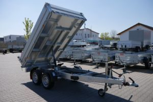 Pongratz RK 2600/15 T-AL 2,57x1,51m 2000kg Rückwärtskipper