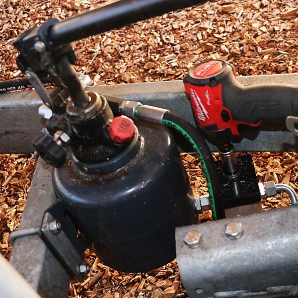 Pumpfast Akkuschrauberaufsatz für Handpumpen