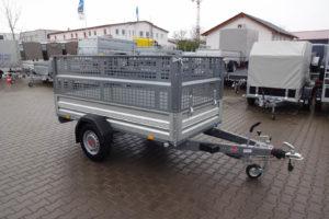 Stema STL Alu 2,51×1,28m 1300kg hoher Gitteraufsatz