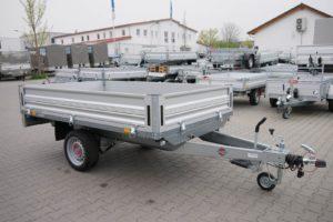 Stema Systema Hochlader Aluminium 2,51×1,53m 1300kg 100 Km/h