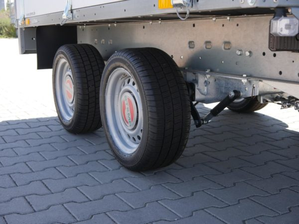 Stema Systema Hochlader Stahl 2,51×1,53m 2000kg 100 Km/h