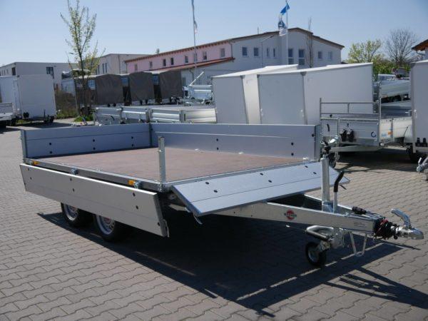 Stema Systema Hochlader Stahl 3,01x1,83m 2700kg 100 Km/h