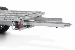 Stema Motorrad Auffahrrampe mit Gleitschiene Nachrüstsatz