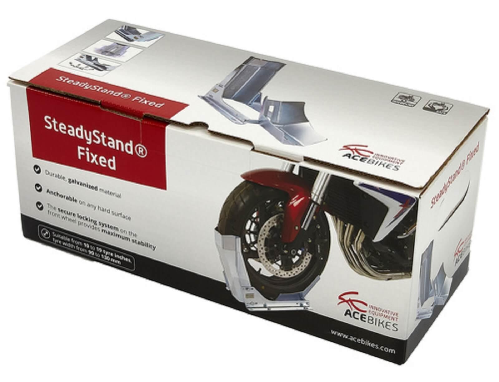 Acebikes Steadystand fixed Motorradwippe 10 bis 19 Zoll