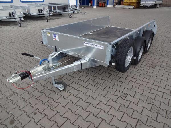 Ifor Williams GD105 massiver Rahmen, Ersatzrad, abschließbare Kupplung