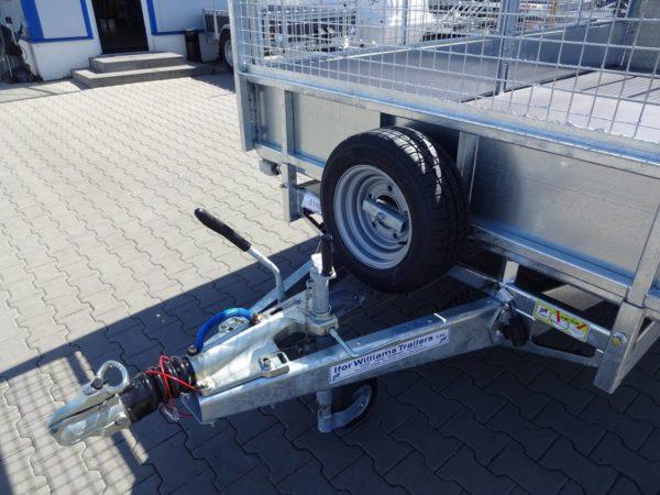Ifor Williams LM 146 G Ersatzrad, abschließbare Kupplung