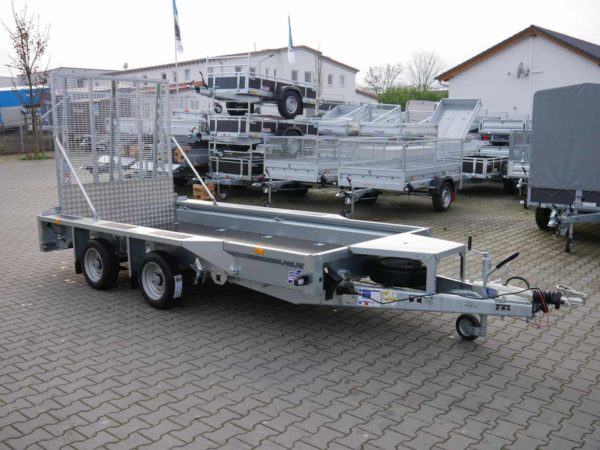 Ifor Williams GX 125 HD Frontansicht