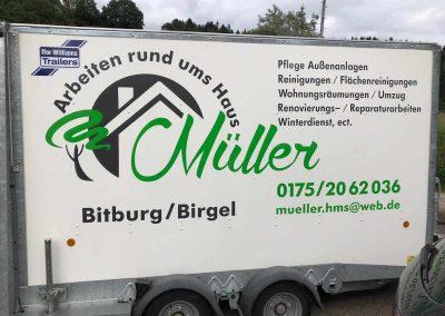 Ifor Williams BV 126 Müller Arbeiten rund ums Haus Bitburg