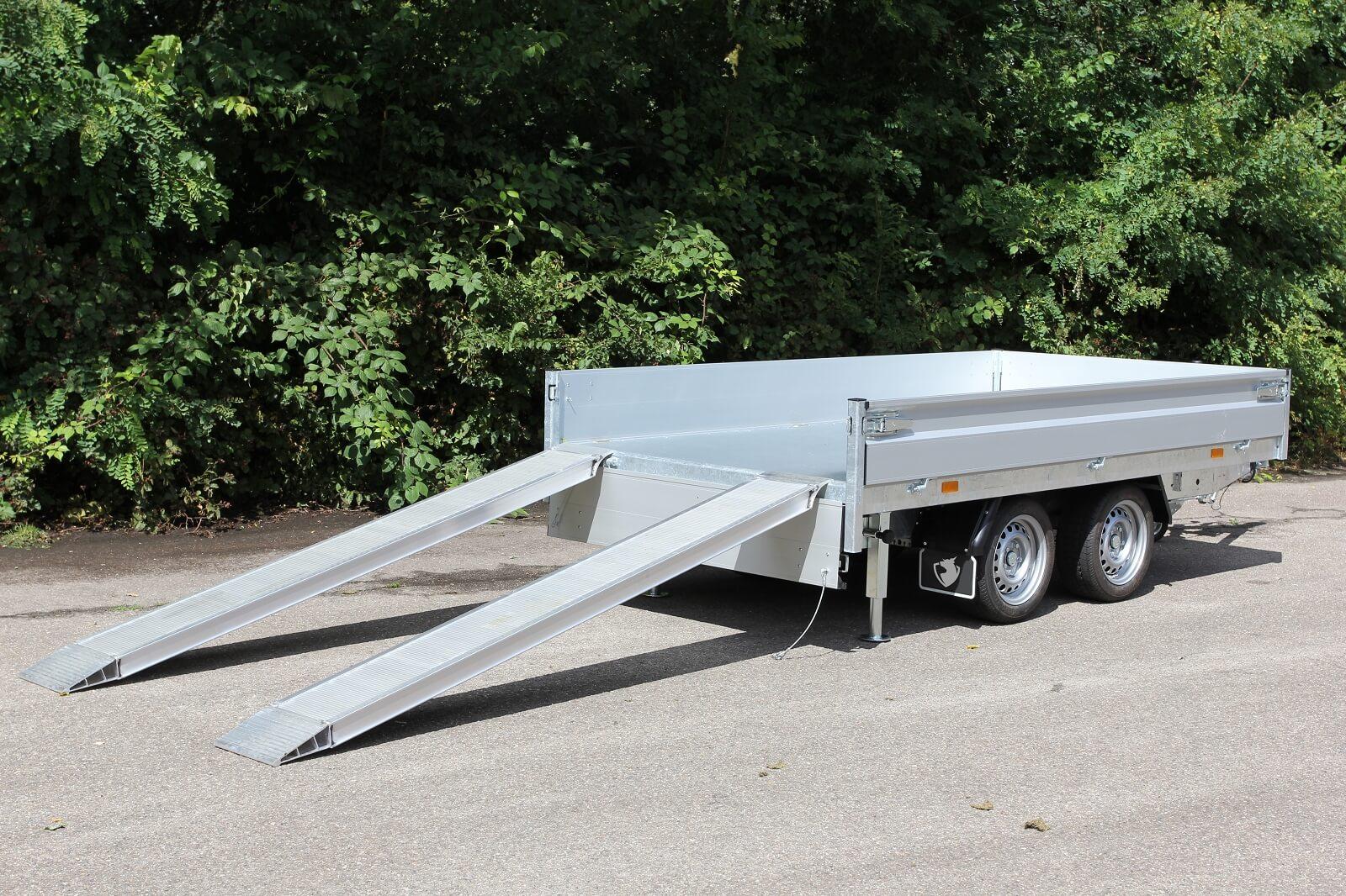 Hapert Aluminium Auffahrrampe Auffahrpaket
